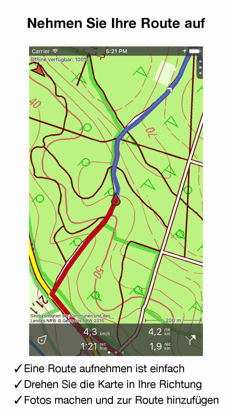 Topo GPS – Topografische Karten für iPhone und Android